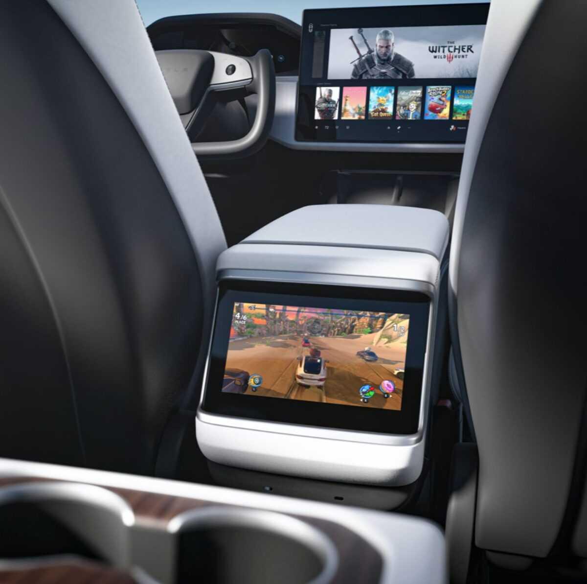 Cyberpunk 2077: il gioco sarà giocabile sulle auto Tesla X e S!