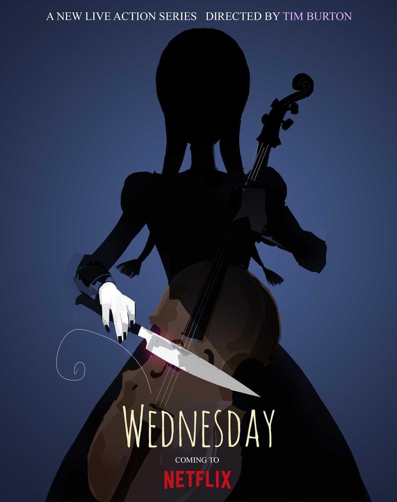 Wednesday: la nuova serie Netflix di Tim Burton