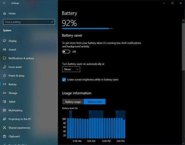 Windows 10: presto una nuova gestione della batteria e del risparmio energetico
