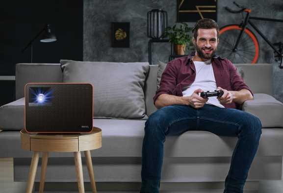 BenQ: ecco il primo proiettore gaming 4 LED al mondo