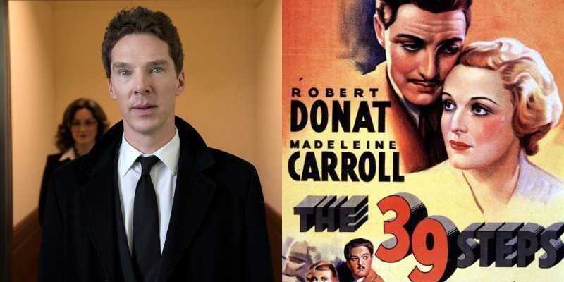 Benedict Cumberbatch nel cast della serie The 39 Steps