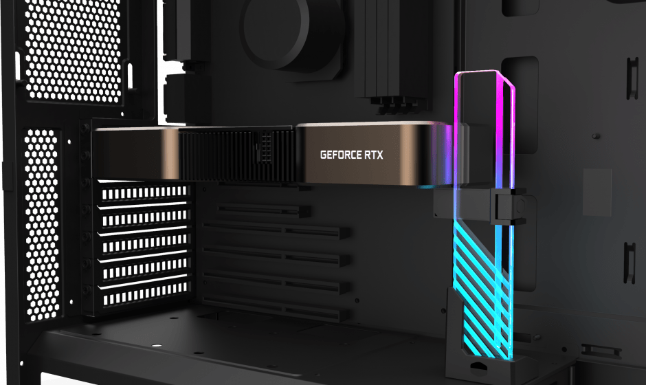 ARGB GPU Support Bracket: Coolermaster presenta il suo nuovo prodotto