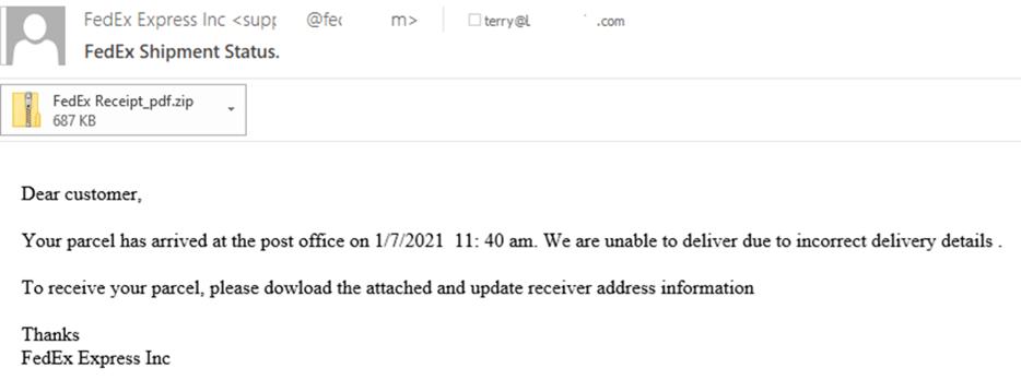 Campagne di phishing: DHL, TNT e altri corrieri al centro dell'attacco