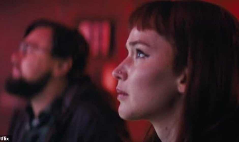 Jennifer Lawrence ferita al volto sul set di Don't Look Up