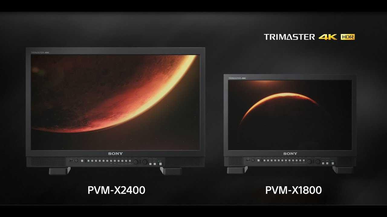 I monitor OLED Sony vincono al Technology & Engineering Emmy Award