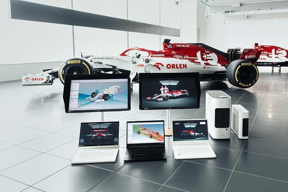 Acer: rinnovata la partnership con Sauber Motorsport per il 2021