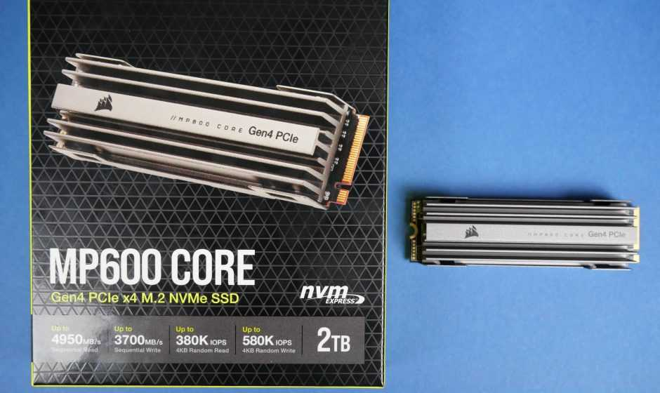 Recensione Corsair MP600 CORE M.2: NVMe sorprendente