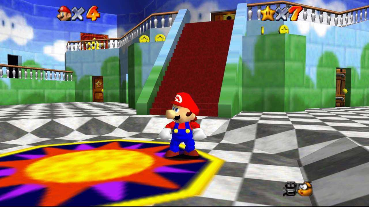 "Retrogaming: Super Mario 64, ""It's – A Me, Mario""!"