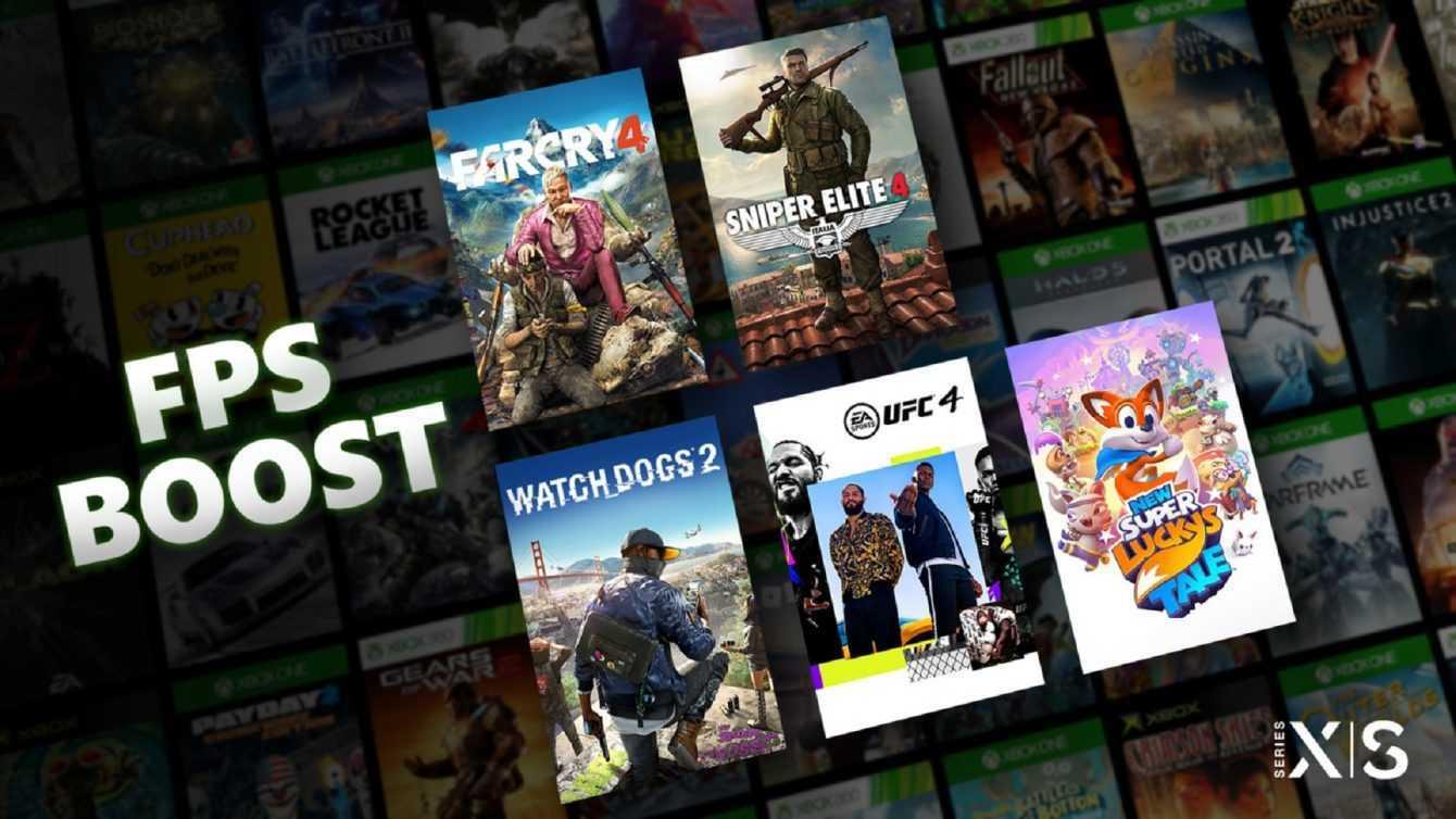 Xbox Series X/S: in arrivo un boost di frame rate per i giochi Xbox One