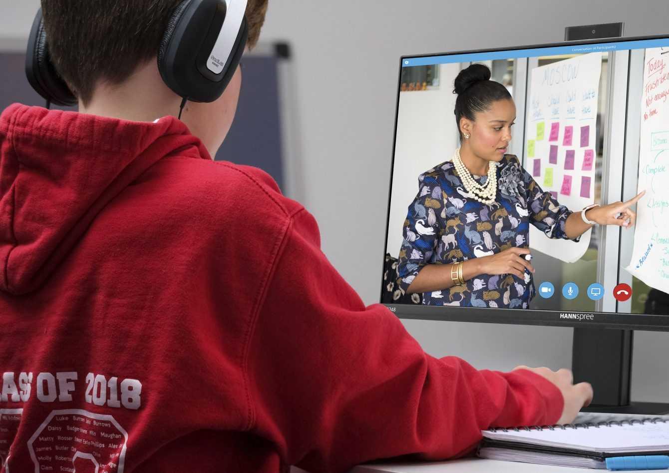 HANNspree annuncia nuovi monitor con la videocamera pop-up