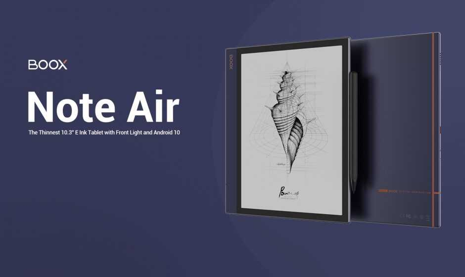 Recensione Onyx Boox Note Air: il miglior(e)-Reader sul mercato