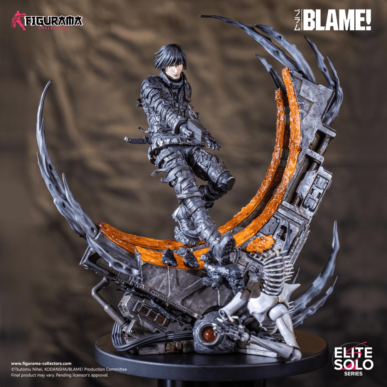 Blame! Killy Elite Solo Statue: i preorder aprono il 27 Marzo