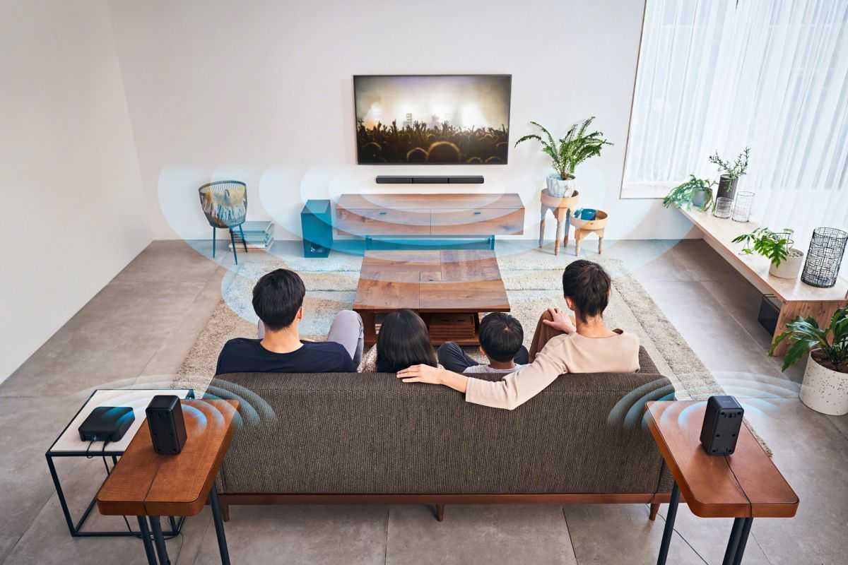 Sony HT-S40R: un sistema di home cinema wireless
