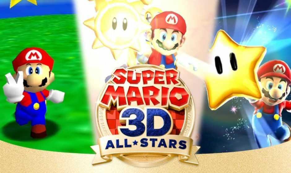 Super Mario 3D All-Stars: il gioco si potrà comprare da aprile in poi