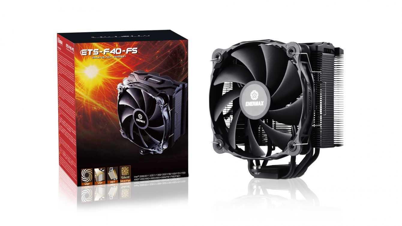ENERMAX ETS-F40-FS ARGB e Solid Black: nuovi dissipatori disponibili