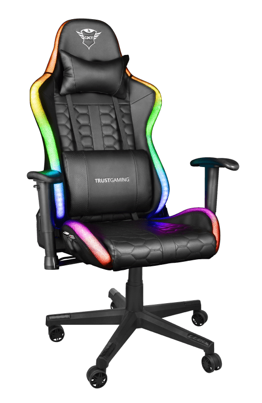 Trust: nuove sedie da gaming GXT 716 Rizza LED RGB e GXT 705C Ryon