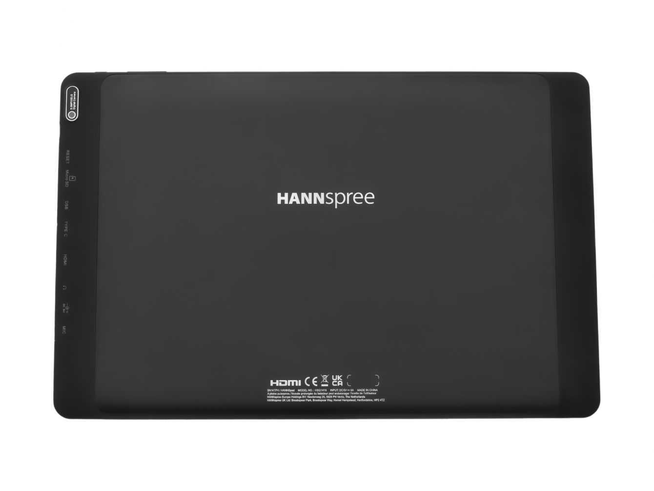 HANNspree introduce in Italia il nuovo tablet PC Zeus