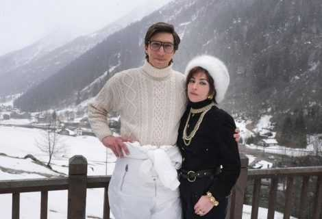 House of Gucci: Adam Driver e Lady Gaga a Villa Balbiano