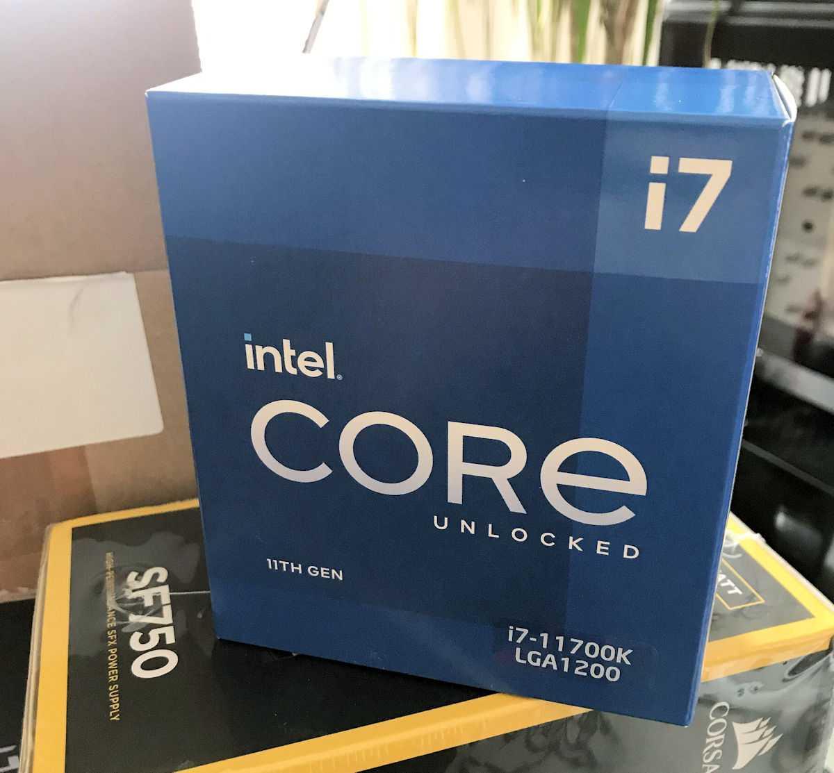 Intel i7 11700K: la CPU Rocket Lake già acquistabile?