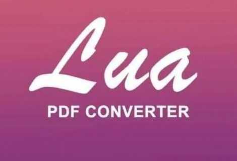 Lua PDF: come convertire file PDF online