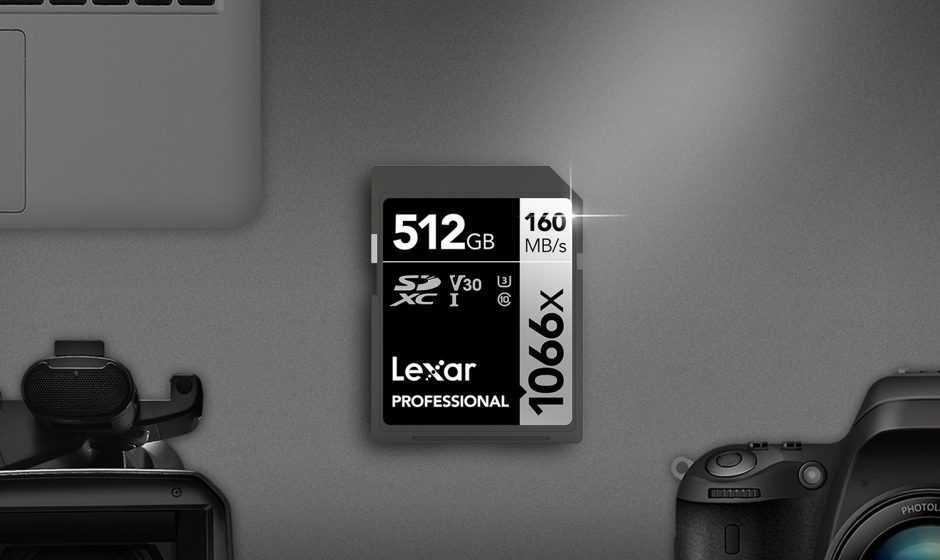 Lexar presenta le nuove Professional 1066x Pro serie SILVER