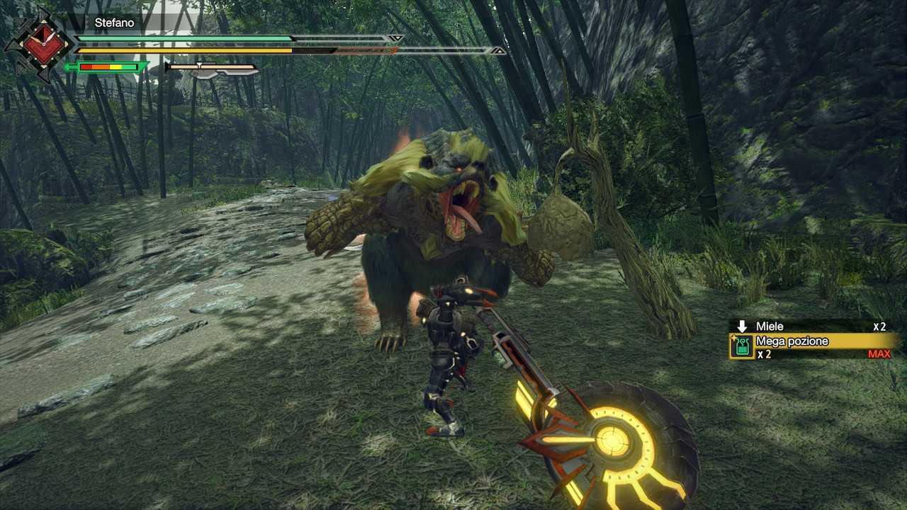 Monster Hunter Rise, guida introduttiva alle armi: spadascia