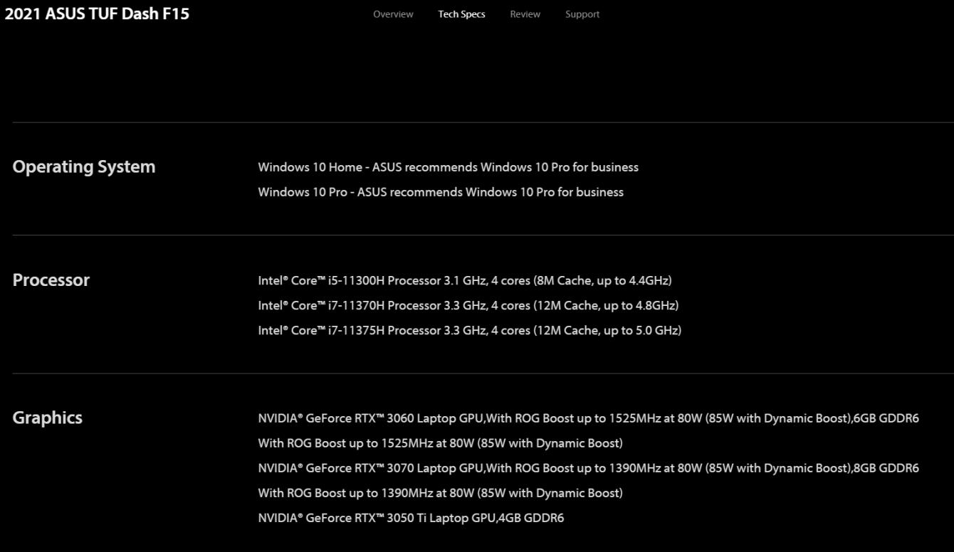 NVIDIA RTX 3050 Ti: ASUS spoilera la scheda?