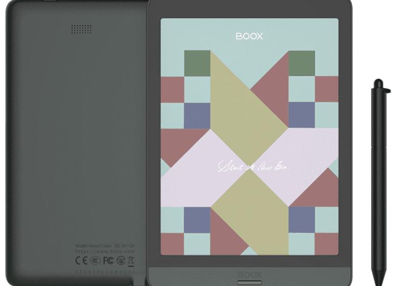 Onyx Boox Nova3 Color: annunciato ufficialmente