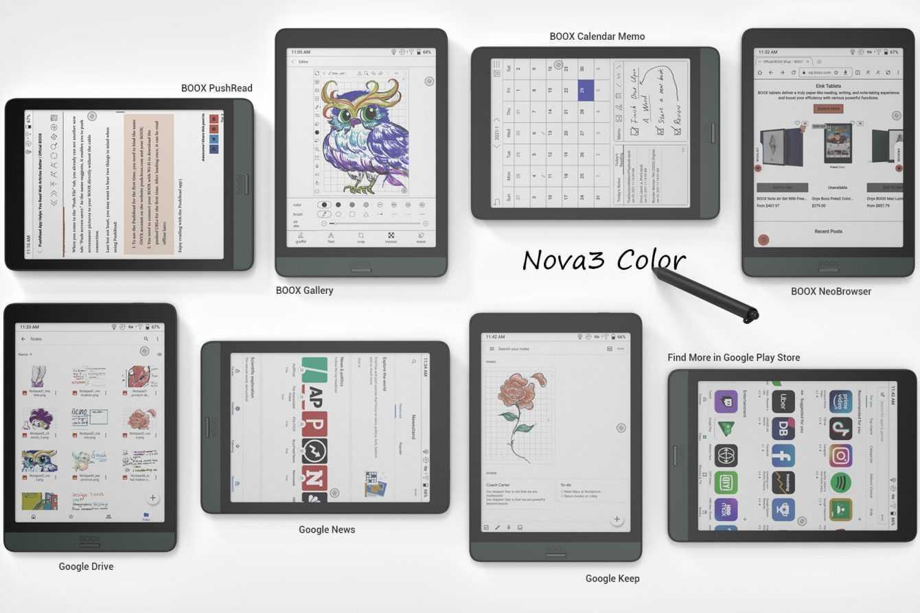 Onyx BOOX Nova3 Color: la nuova generazione di eReader a colori