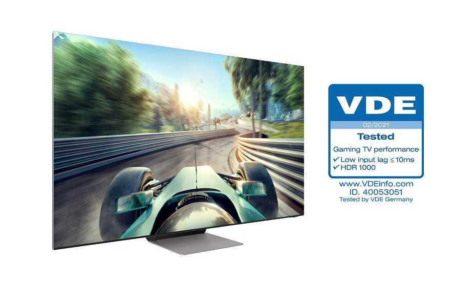 "TV Samsung Neo QLED: certificate ""Gaming TV Performance"""