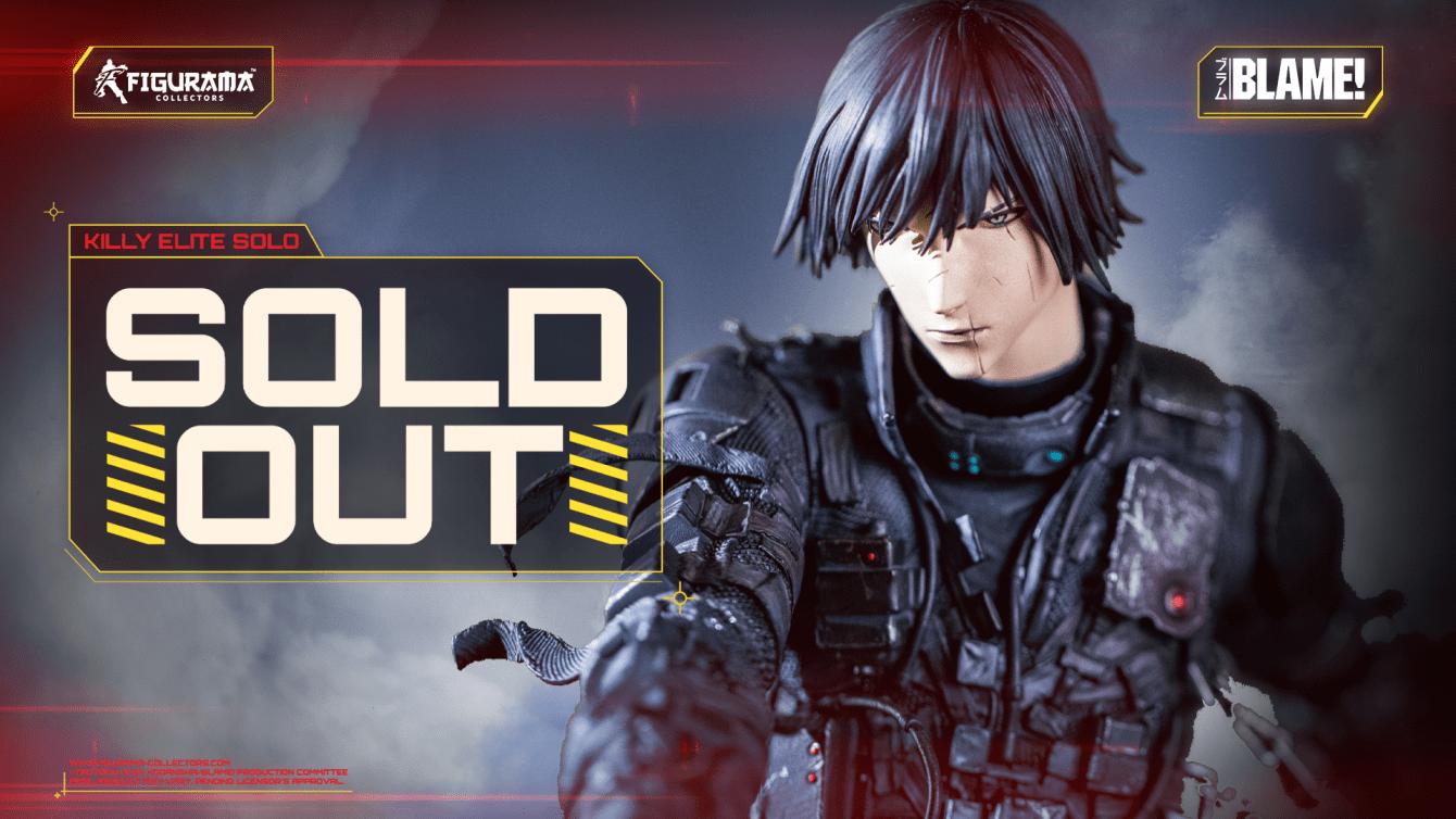 La Killy Elite Solo Statue di Blame! è sold out