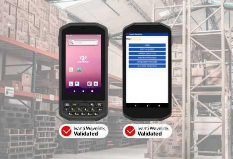 WEROCK riceve la certificazione Ivanti Wavelink per la serie Scoria A100