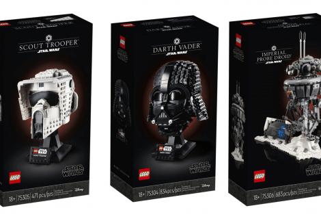 LEGO Star Wars: rivelati tre nuovi set!