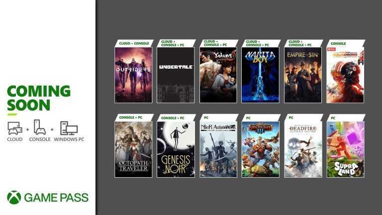 Xbox Game Pass: ecco i nuovi giochi di marzo!