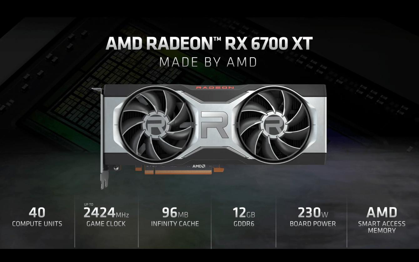 AMD RX 6700 XT: meglio di RTX 3070 in gaming, perde sul ray tracing