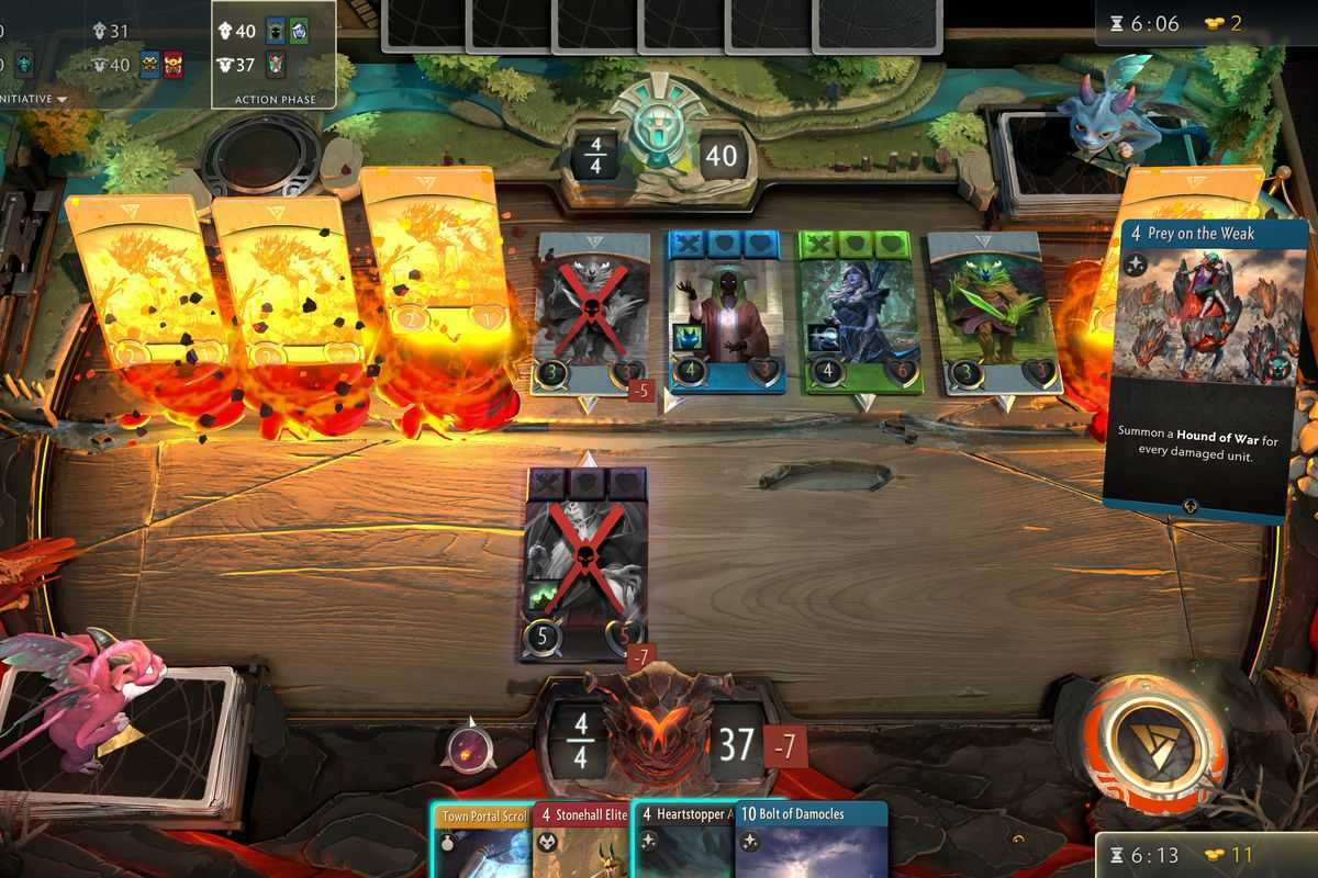 Artifact 2.0: Valve ha staccato la spina al gioco di carte su Dota, il titolo non riceverà più aggiornamenti
