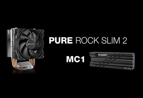 be quiet! arrivano Pure Rock Slim 2, MC1 e MC1 Pro