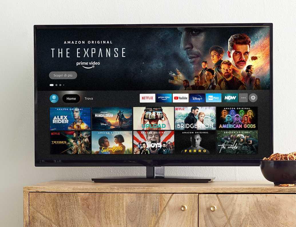 Amazon Fire TV: nuova interfaccia grafica su Stick e Cube