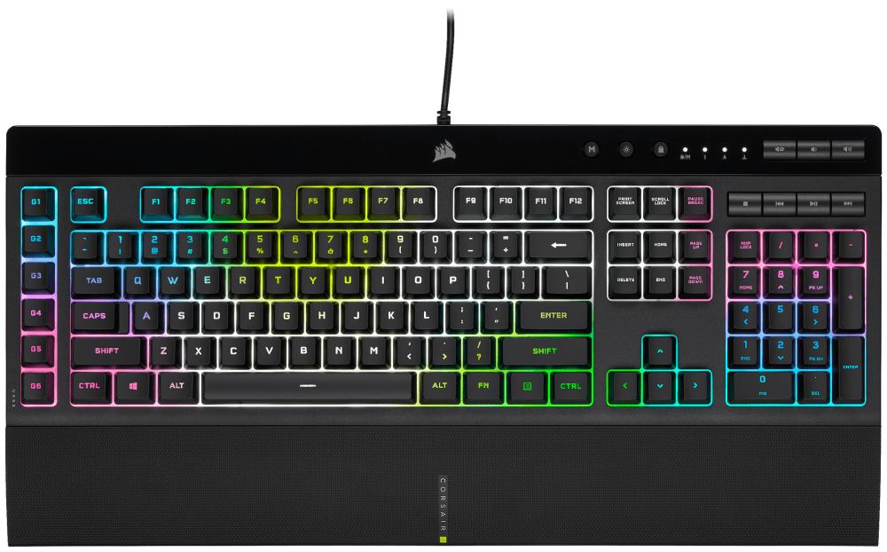 Corsair: ecco le nuove tastiere K55 RGB PRO e PRO XT