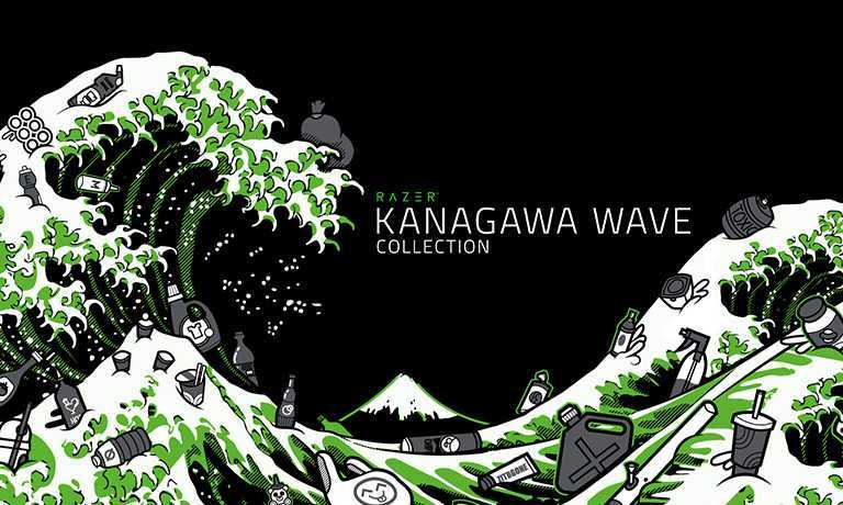 Razer: la linea Kanagawa Wave strizza l'occhio all'ambiente