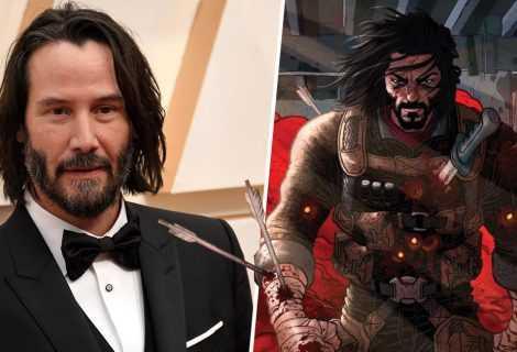 Keanu Reeves sarà il protagonista di BRZRKR per Netflix