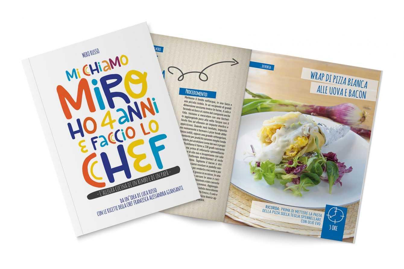 Mi chiamo Miro ho quattro anni e faccio lo Chef: bimbo in cucina
