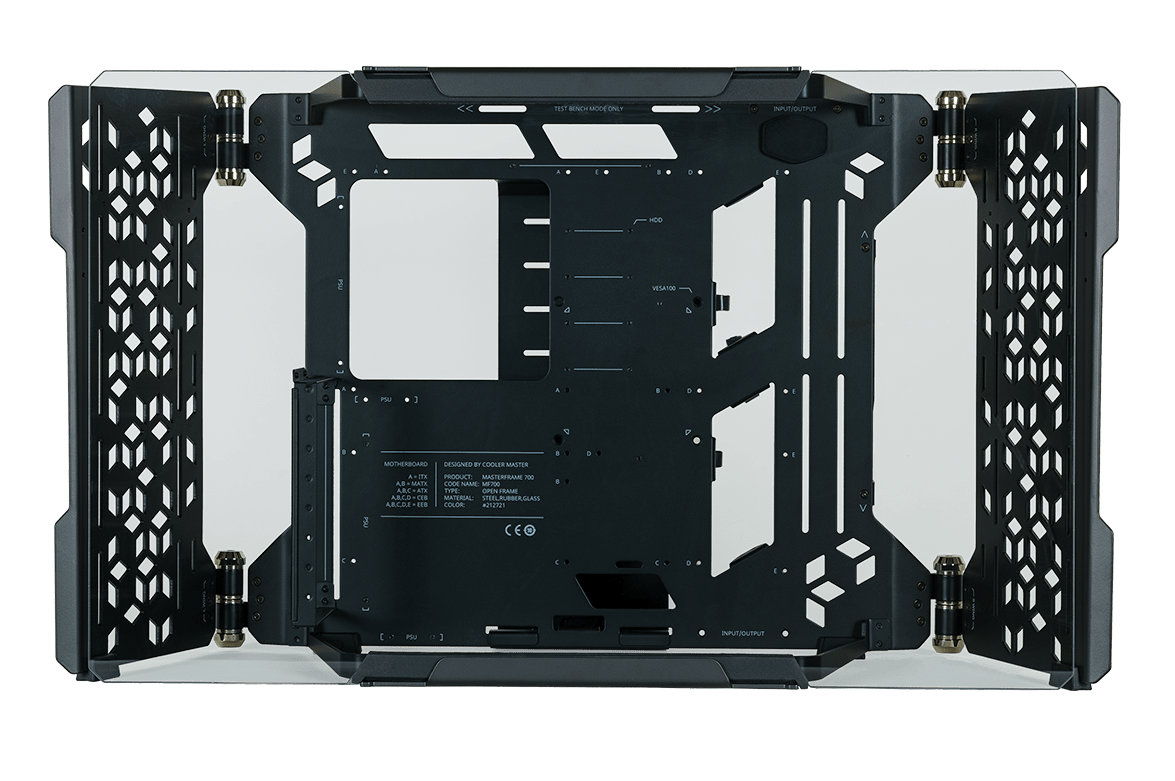 Cooler Master MasterFrame 700: il nuovo case open air
