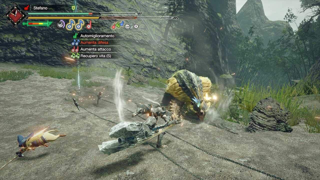 Monster Hunter Rise, guida introduttiva alle armi: corno da caccia
