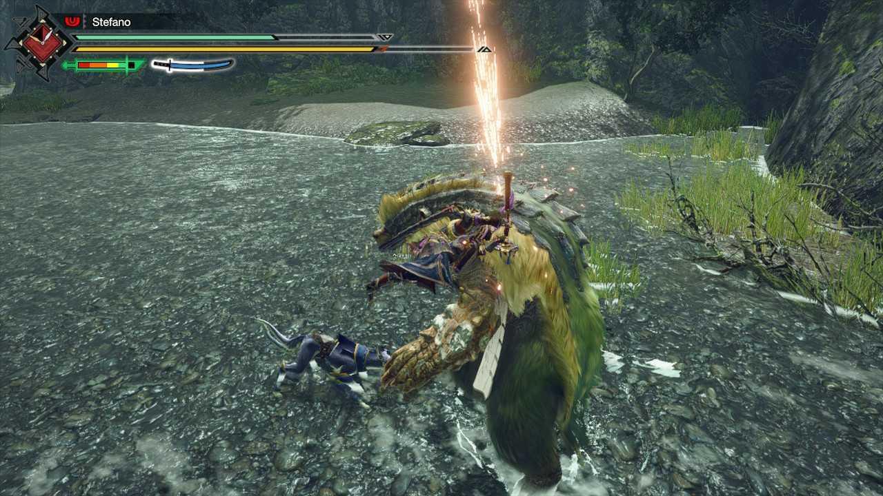 Monster Hunter Rise, guida introduttiva alle armi: spada lunga