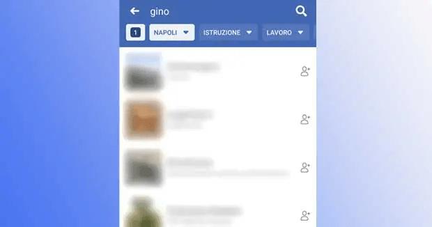 Facebook: come cercare persone per località