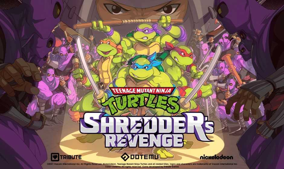 Teenage Mutant Ninja Turtles: Shredder's Revenge è in uscita su PC e console