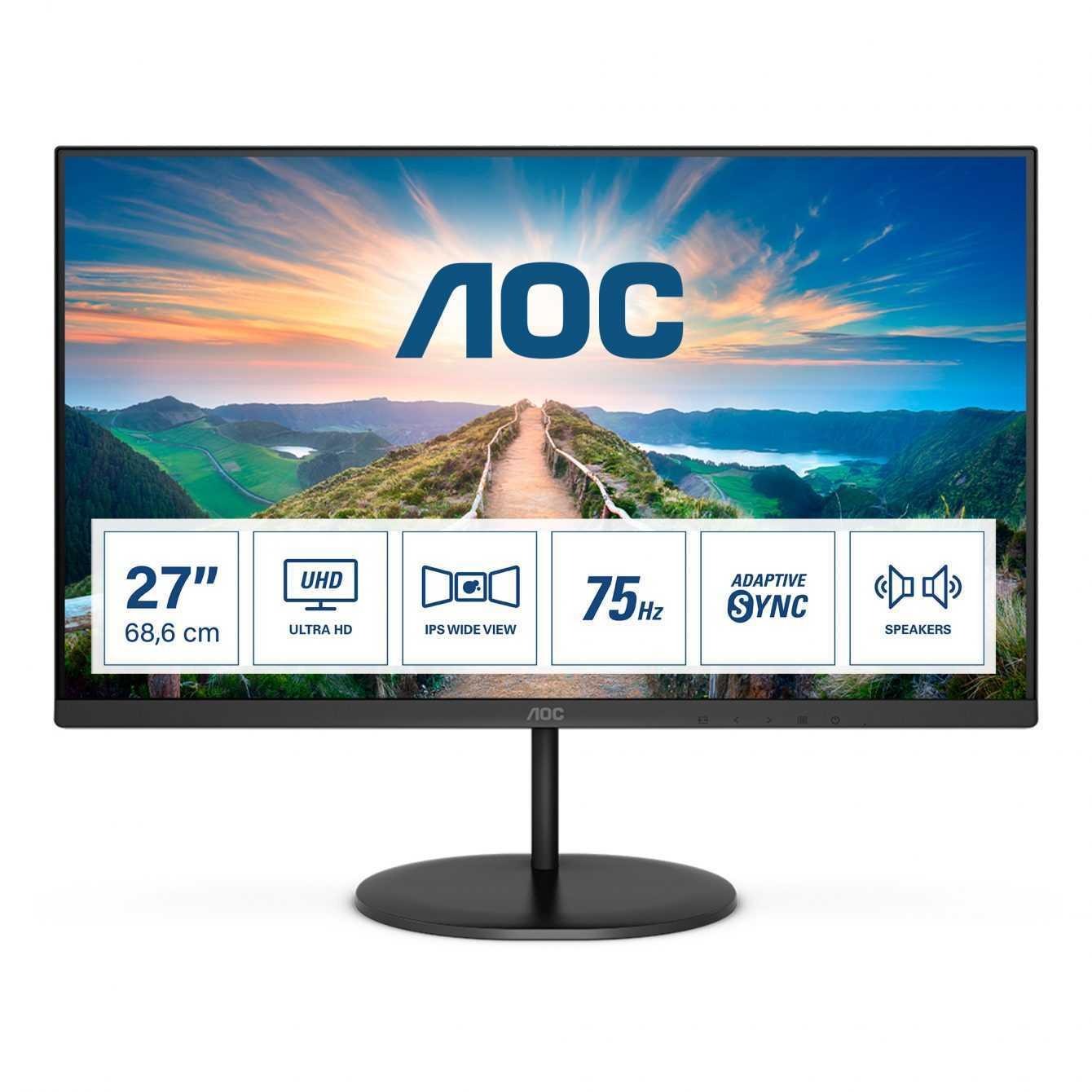 AOC V4: nuova serie di monitor IPS ad alta risoluzione e sottili