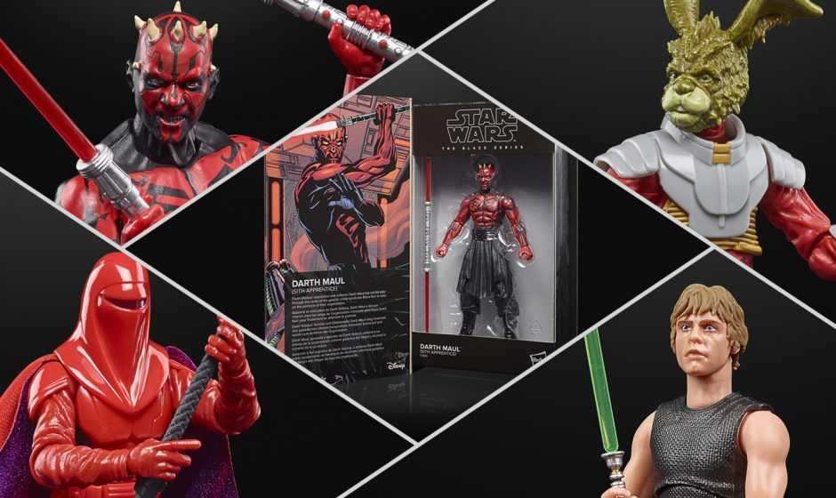 Star Wars Black Series: ecco le nuove figure di Darth Maul e Luke Skywalker