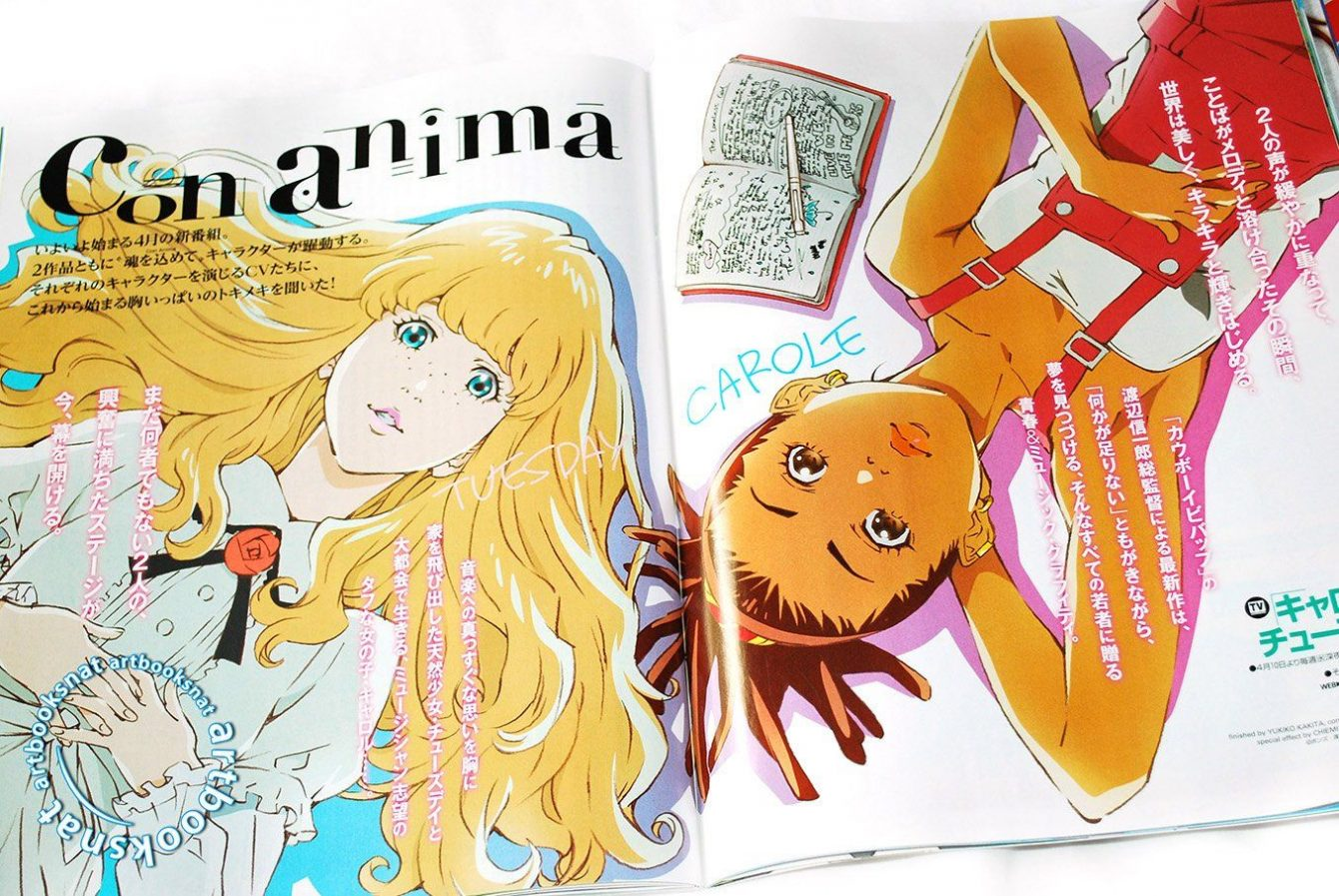Carole & Tuesday in manga version debuts in Italy